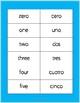 Spanish Vocabulary Word Wall