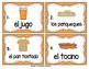 Spanish Vocabulary Write the Room: Breakfast Set