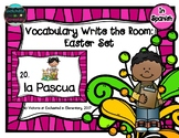Spanish Vocabulary Write the Room: Easter Set