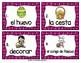 Spanish Vocabulary Write the Room: Easter Set