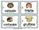 Spanish Vocabulary Write the Room: Emotions Set