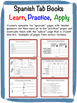 Spanish Vocabulary and Grammar Tab Book Bundle (27 Versions)