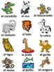 Spanish Vocabulary  for Animals