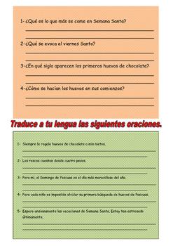 Spanish Vocabulary of Easter/ Holy week