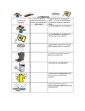 Speech Therapy Spanish Vocabulary w/ Questions: Spring/Primavera