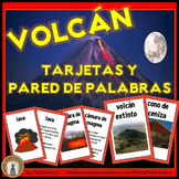 Spanish Volcano Vocabulary