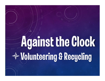 Spanish Volunteering and Recycling Against the Clock