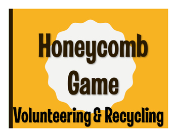 Spanish Volunteering and Recycling Honeycomb Game