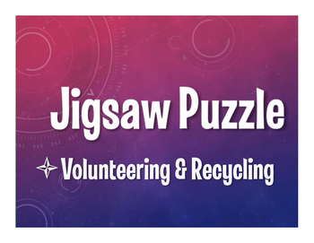 Spanish Volunteering and Recycling Jigsaw Puzzle