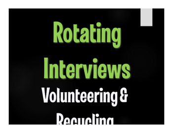 Spanish Volunteering and Recycling Rotating Interviews