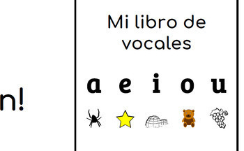 Spanish Vowel Book for Emergent Readers! Vocales!