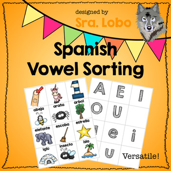 Spanish - Vowel Sorting