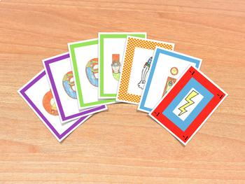 Spanish Vowels Card Game - Juego de cartas de vocales en español