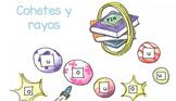 Spanish Vowels Game (O,U) - Juego de vocales en español (O,U)