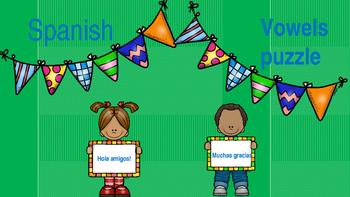 Spanish Vowels puzzle