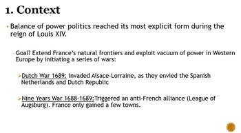 Spanish War of Succession PowerPoint