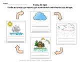 Spanish: Water Cycle Worksheets (El ciclo del agua)