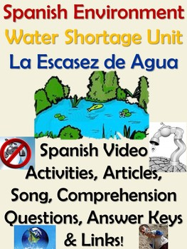 Spanish Water Shortage Escasez de Agua Unit - Desafios Mundiales