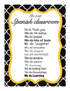 Spanish - We do - Poster.