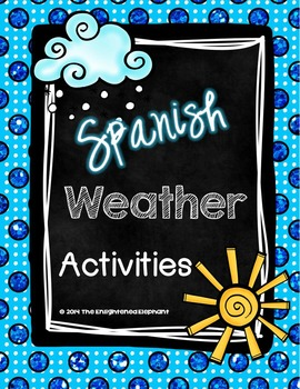 Spanish Weather Activities