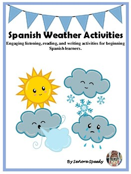Spanish Weather Activities with Authentic Resources
