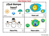 Spanish Weather 2 Emergent Reader Booklets - Que Tiempo Hace?