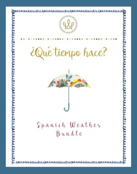 Spanish Weather Bundle