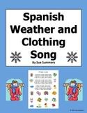 Spanish Weather & Clothing Song - El Tiempo y La Ropa