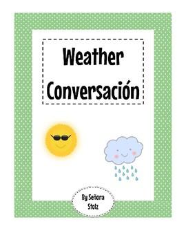 Spanish Weather Conversacion Activity
