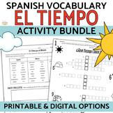 El Tiempo Weather in Spanish BUNDLE