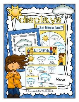 Spanish Weather El Clima