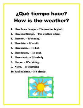Spanish Weather 1 in addition  also Quiz   Worksheet   Spanish Practice  Weather and Seasons Vocabulary furthermore Spanish Language Activities  Outdoor Scenes and Geography besides Spanish language teaching resources   Teachit Languages moreover Vocabulary Words for Weather in Spanish besides Weather Vocabulary and Weather Expressions Spanish Cl Activities moreover Free Spanish Worksheets  Christmas Words   Palas de Navidad also Free Spanish Worksheets  Christmas Words   Palas de Navidad in addition  additionally 10 ly Spanish Weather Worksheets Pictures   grahapada besides Collection of Worksheet spanish weather   Download them and try to moreover Weather ESL Activities Worksheets Games further  besides Page Worksheet Packet On Telling Time In Plus Seasons Weather moreover Free Spanish Worksheets for Kids  Fall Words and Colors   Home Den. on weather expressions in spanish worksheets