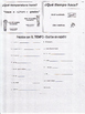 Spanish Weather Expressions Worksheet