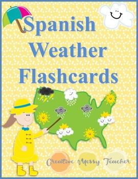 Spanish Weather Flashcards