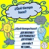 Spanish: Weather  Flipbook Project