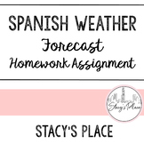 Spanish Weather Forecast: Homework Assignment (El Tiempo)