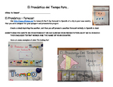 Spanish Weather Forecast Instructions and Rubric