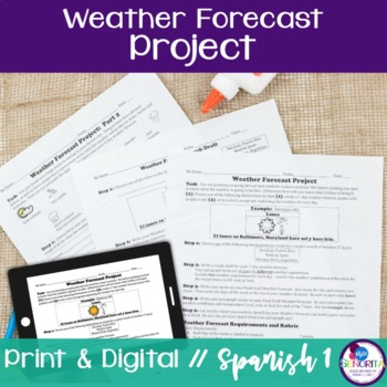 Spanish Weather Forecast Project