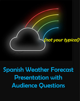 Spanish Weather Forecast WITH Audience Questions!