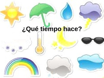 Spanish Weather Game--What's Missing?