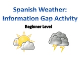 Spanish Weather: Information Gap Activity