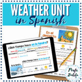 Spanish Weather | Lessons and Guided Practice | Digital & PDF