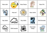 Spanish Weather Memory Cards