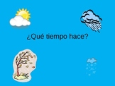 Spanish Weather PowerPoint Que tiempo hace? PPT
