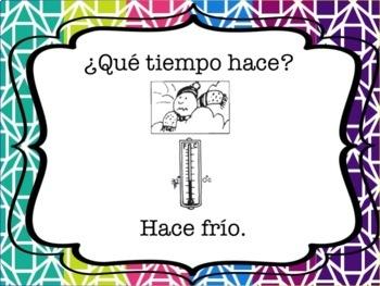 Spanish Weather Powerpoint