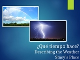 Spanish Weather Powerpoint #1 (El Tiempo)