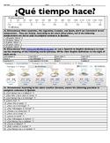 Spanish Weather Practice: ¿Qué tiempo hace?