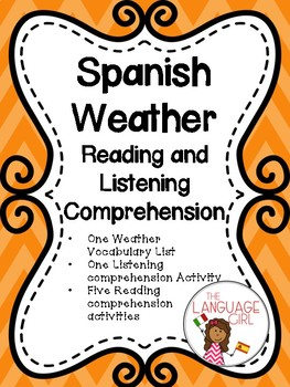 Spanish Weather Reading and Listening Comprehension