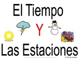 Spanish Weather & Seasons PowerPoint & Signs