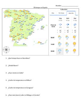 Spanish - Weather - Short Answers